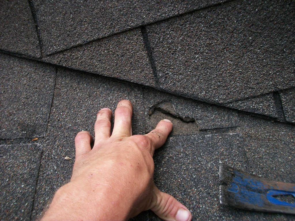 roof repair vs replacement huntersville nc